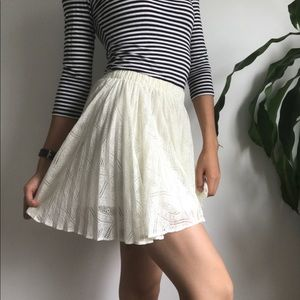 Urban Outfitters Pins & Needles Lace Circle Skirt